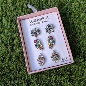 Sugarfix by BaubleBar Colorful Crystal Earring Set